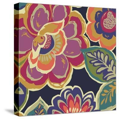Floral Assortment Square I-Hugo Wild-Stretched Canvas Print