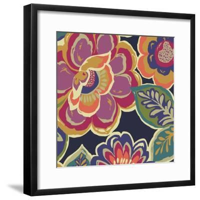 Floral Assortment Square I-Hugo Wild-Framed Art Print