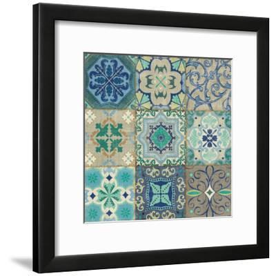 Santorini I-Pela Design-Framed Art Print