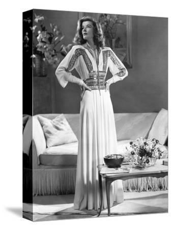 Katharine Hepburn, The Philadelphia Story, 1940--Stretched Canvas Print