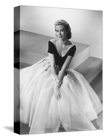Grace Kelly, Rear Window, 1954--Stretched Canvas Print