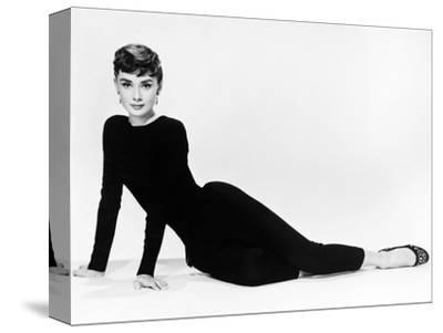 "Audrey Hepburn. ""Sabrina Fair"" 1954, ""Sabrina"" Directed by Billy Wilder. Diseñador: Givenchy--Stretched Canvas Print"
