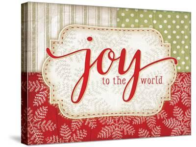 Joy to the World-Jennifer Pugh-Stretched Canvas Print