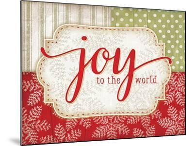 Joy to the World-Jennifer Pugh-Mounted Art Print