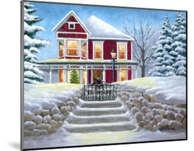 Steps to Christmas-Julie Peterson-Mounted Art Print