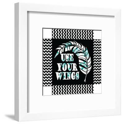Use Your Wing Art Box-Shanni Welch-Framed Art Print