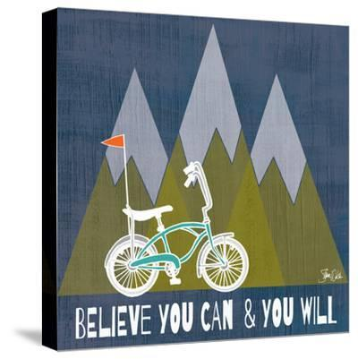 Believe You Can-Shanni Welch-Stretched Canvas Print