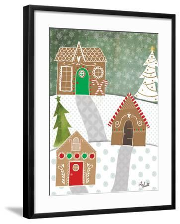 Gingerbread Houses-Katie Doucette-Framed Art Print