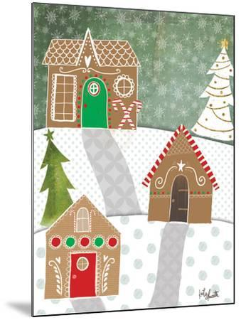 Gingerbread Houses-Katie Doucette-Mounted Art Print