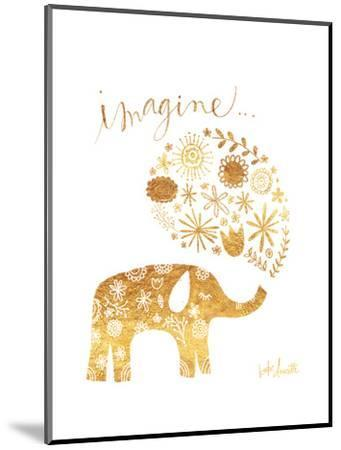 Imagine Elephant-Katie Doucette-Mounted Premium Giclee Print