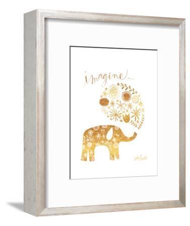 Imagine Elephant-Katie Doucette-Framed Art Print