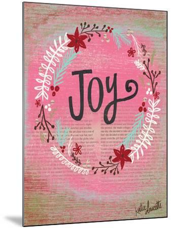 Joy Wreath-Katie Doucette-Mounted Art Print