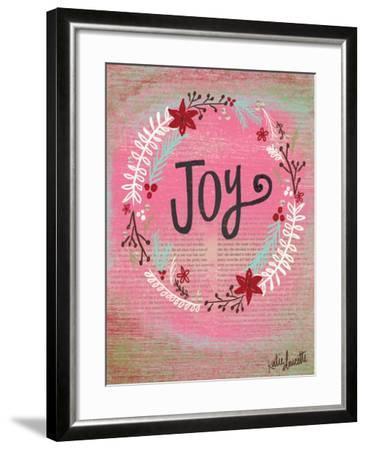 Joy Wreath-Katie Doucette-Framed Art Print