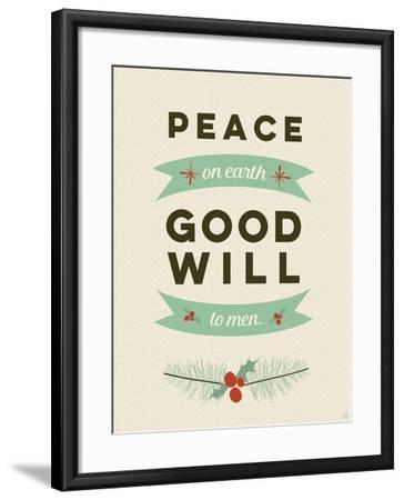 Peace on Earth-Aubree Perrenoud-Framed Art Print
