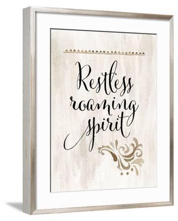 Restless Roaming Spirit-Tara Moss-Framed Art Print
