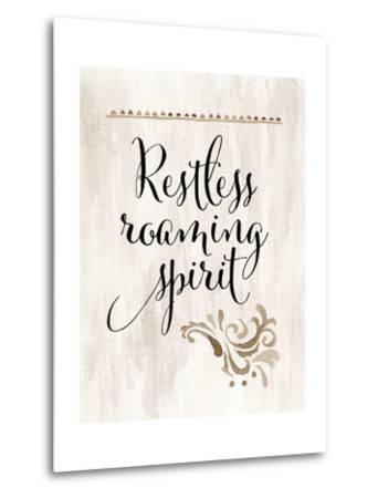 Restless Roaming Spirit-Tara Moss-Metal Print