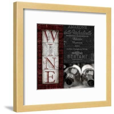 Vintage Amarone-Lisa Wolk-Framed Art Print