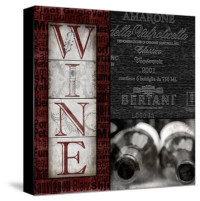Vintage Amarone-Lisa Wolk-Stretched Canvas Print