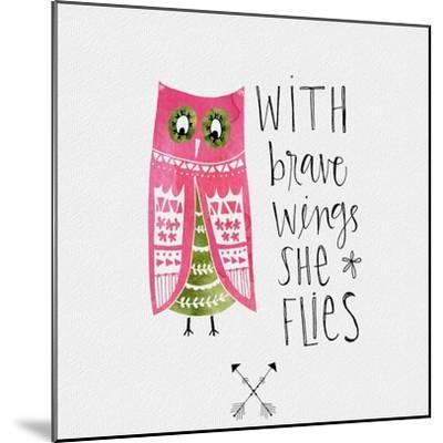 Brave Wings-Katie Doucette-Mounted Art Print