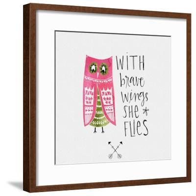 Brave Wings-Katie Doucette-Framed Art Print