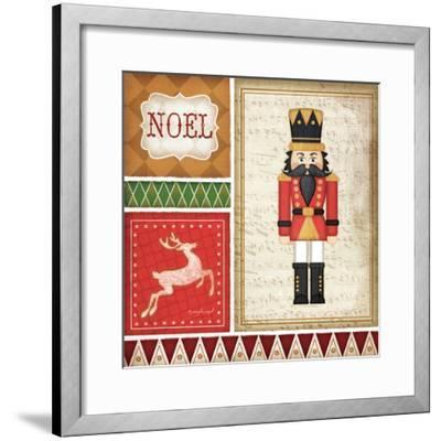Nutcracker Noel-Jennifer Pugh-Framed Art Print