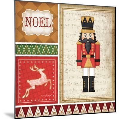 Nutcracker Noel-Jennifer Pugh-Mounted Art Print