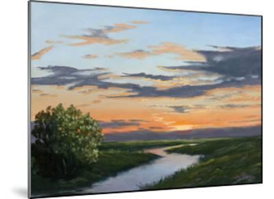Evening Hue of Orange-Julie Peterson-Mounted Art Print