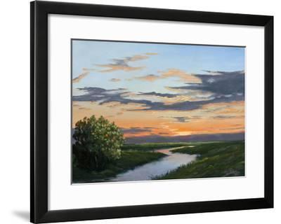 Evening Hue of Orange-Julie Peterson-Framed Art Print