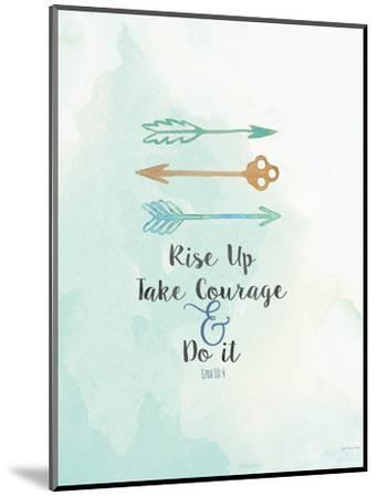 Take Courage-Jo Moulton-Mounted Art Print