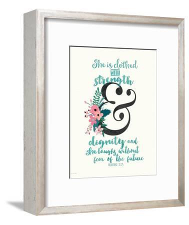 Dignity and Strength-Jo Moulton-Framed Art Print