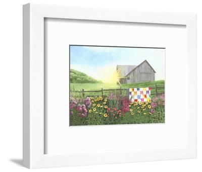 Sunshine Quilt-Julie Peterson-Framed Art Print