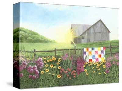 Sunshine Quilt-Julie Peterson-Stretched Canvas Print