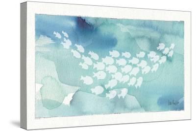 Sea Life II-Lisa Audit-Stretched Canvas Print