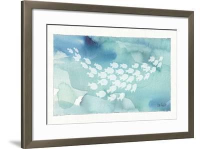 Sea Life II-Lisa Audit-Framed Art Print