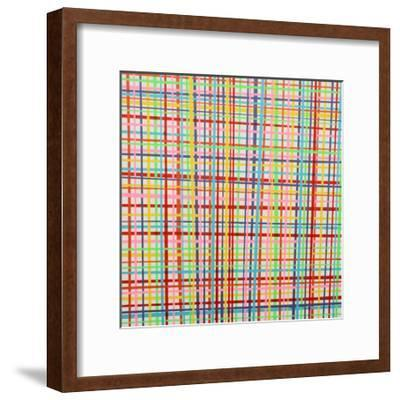 I Saw Pretty Lines- Tate Sisters-Framed Giclee Print