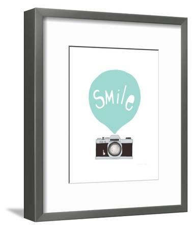 Smile-Seventy Tree-Framed Giclee Print