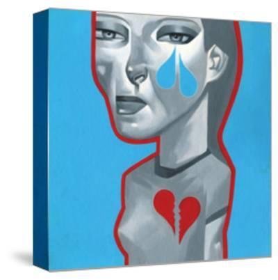 Heart Failure-Thomas Fuchs-Stretched Canvas Print