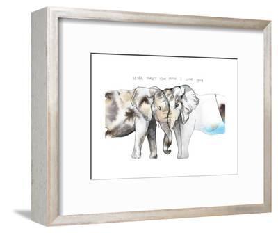 Never Forget-Nina Dogmetchi-Framed Premium Giclee Print