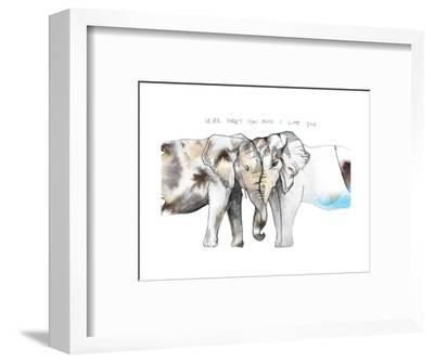 Never Forget-Nina Dogmetchi-Framed Giclee Print