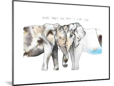 Never Forget-Nina Dogmetchi-Mounted Giclee Print