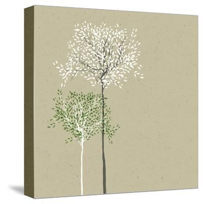 Trees Background-pashabo-Stretched Canvas Print