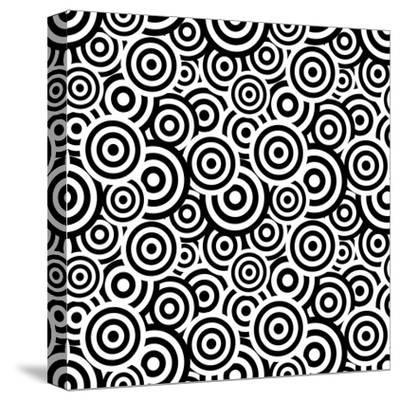 Seamless Retro Pattern- ihor_seamless-Stretched Canvas Print