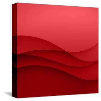 Abstract Red Background-Click Bestsellers-Stretched Canvas Print
