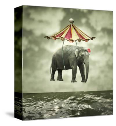 Fanciful Elephant-ValentinaPhotos-Stretched Canvas Print