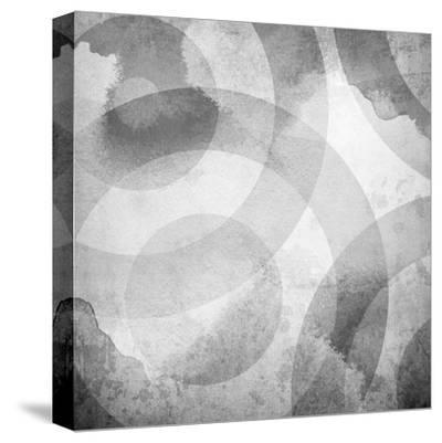 Old Background With Circle Pattern-Eky Studio-Stretched Canvas Print