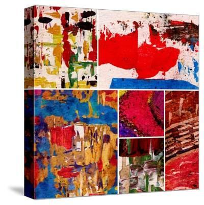 Abstract Painting, Digital Collage-Andriy Zholudyev-Stretched Canvas Print