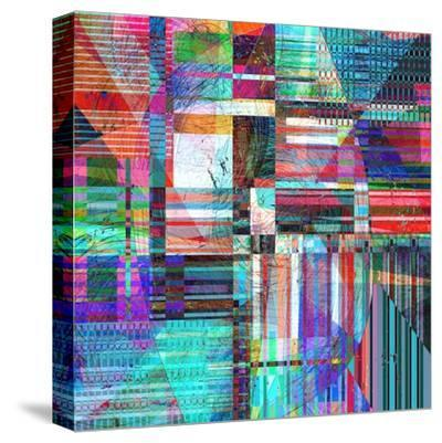 Abstract Background-Tanor-Stretched Canvas Print