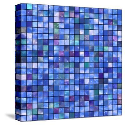 Mosaic-rateland-Stretched Canvas Print