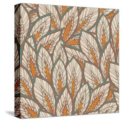 Eastern Pattern.-veraholera-Stretched Canvas Print