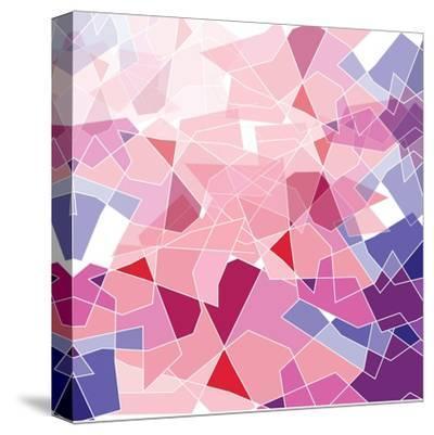 Geometric Background-ApichartMeesri-Stretched Canvas Print
